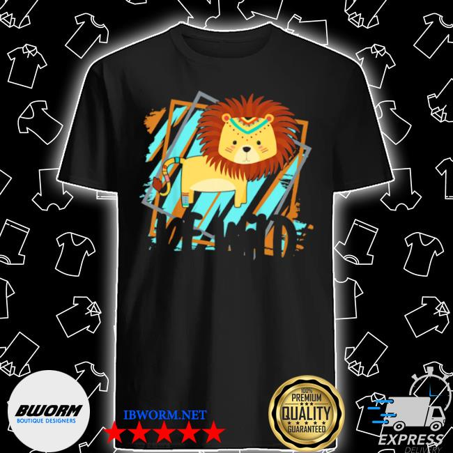 Kids be wild gypsy hippie lion girls toddler shirt