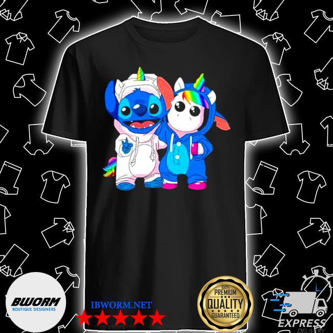 Lilo and stitch with unicorn 2021 shirt