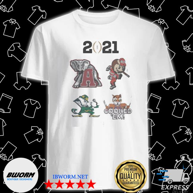 Official 2021 college football playoff shirt