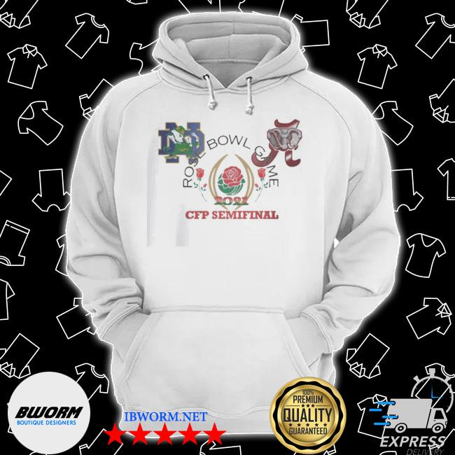 Official 2021 rose bowl cfb playoff semifinal s Classic Hoodie