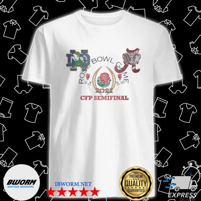 Official 2021 rose bowl cfb playoff semifinal shirt