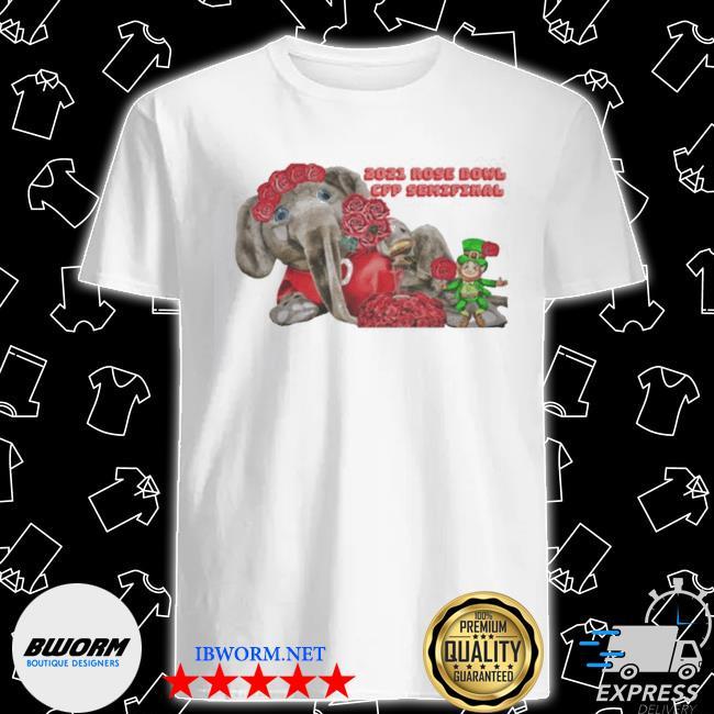Official 2021 rose bowl cfp semifinal shirt