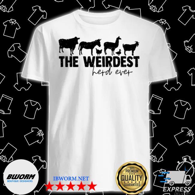 Official arms family homestead merch weirdest herd shirt