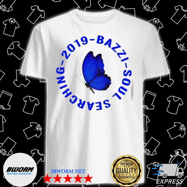 Official bazzi merch bazzi soul searching shirt