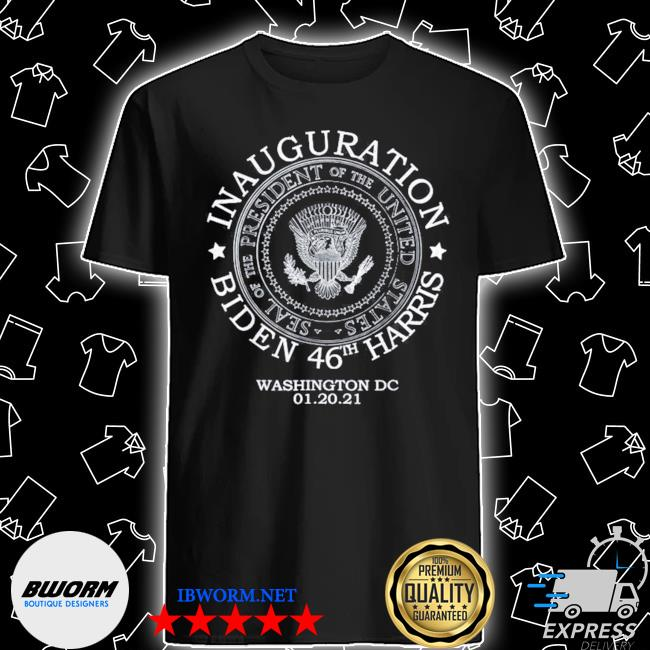 Official biden harris presidential inauguration day 2021 shirt