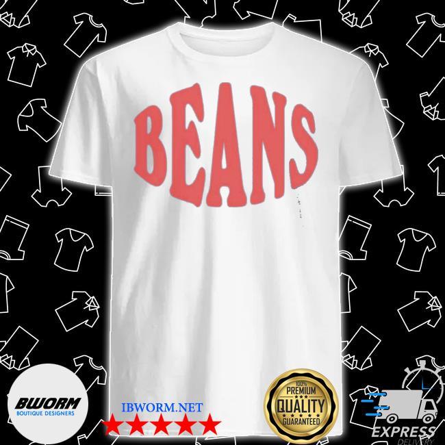 Official bon appetit beans the beans for world central kitchen shirt