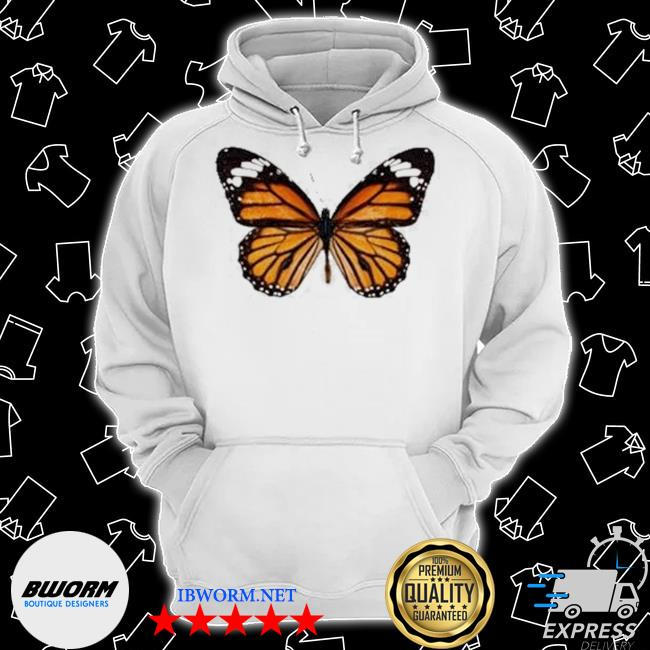 Official butterfly brandy melville daisy butterfly s Classic Hoodie