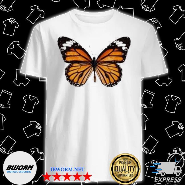 Official butterfly brandy melville daisy butterfly shirt