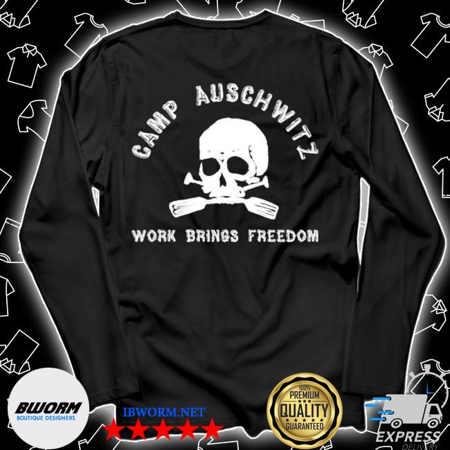 Official camp auschwitz work brings freedom s Unisex Long Sleeve Tee
