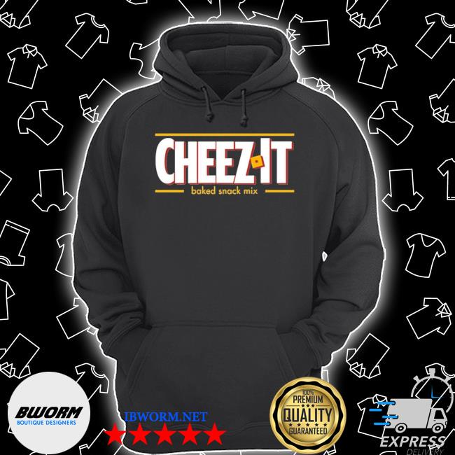 Official cheez it baked snack mix s Unisex Hoodie