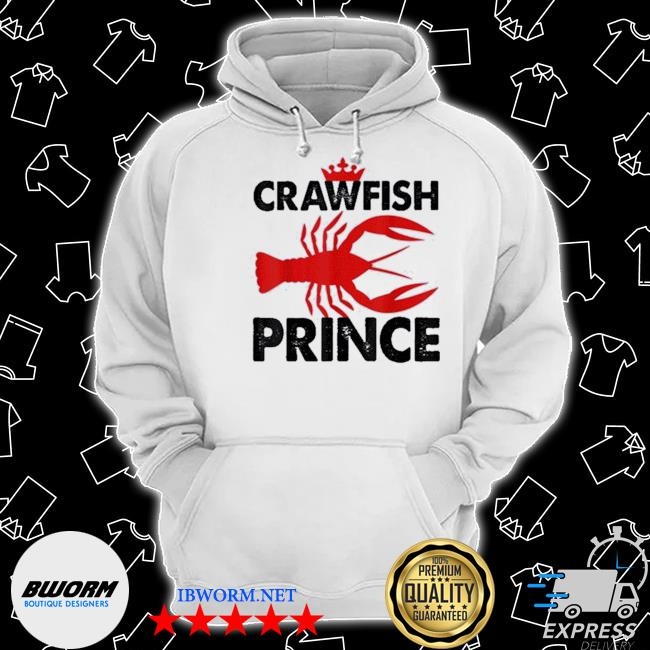 Official crawfish prince foodie party s Classic Hoodie