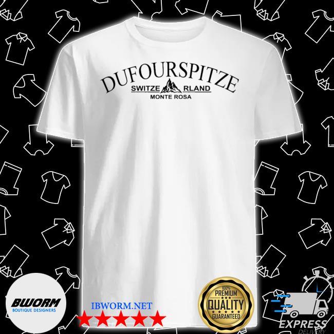 Official dufourspitze switzerland monterosa shirt