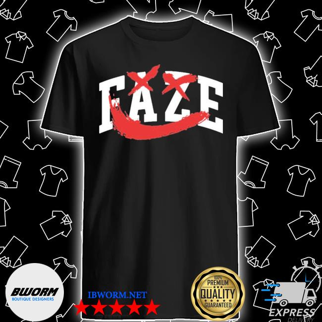 Official faze rug movie merch shirt