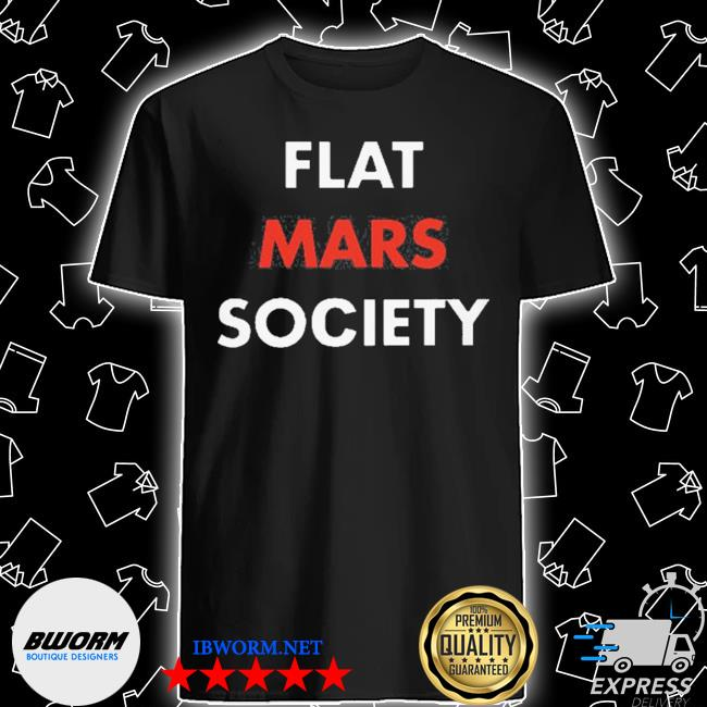 Official greta thunberg flat mars society shirt