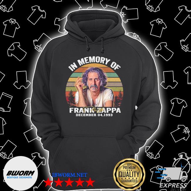 Official in memory of frank zappa december 04 1933 vintage s Unisex Hoodie