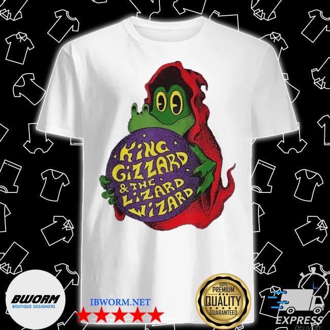 Official king gizzard the lizard wizard shirt
