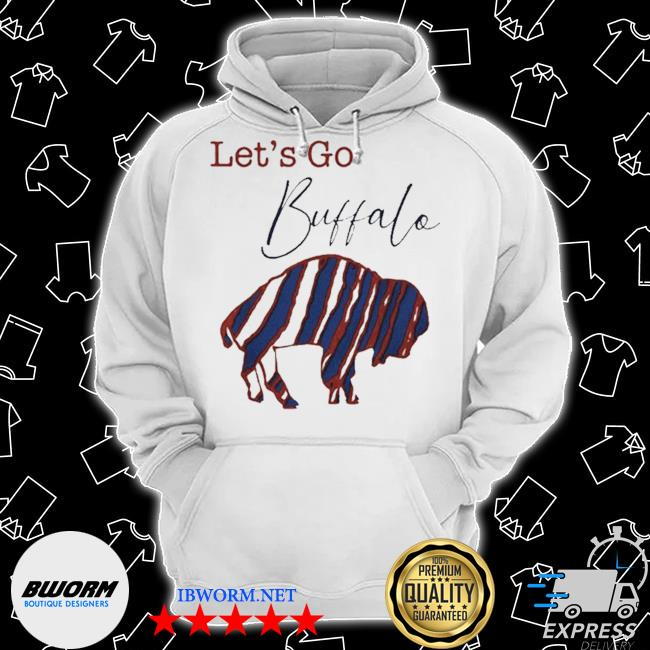 Official let's go buffalo bills 2021 s Classic Hoodie