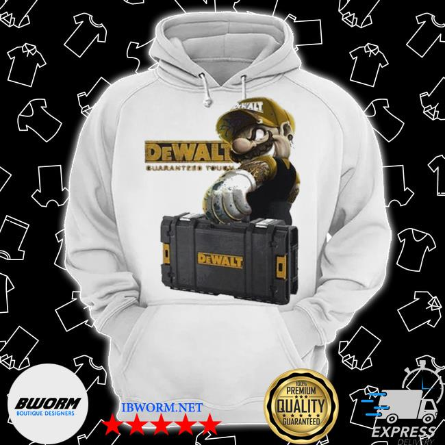 Official mario carries suitcase dewalt guaranteed tough s Classic Hoodie