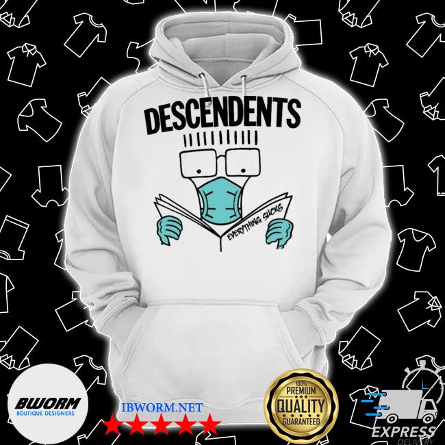 Official my chemical romance descendents thursday and descendents mask everything sucks s Classic Hoodie