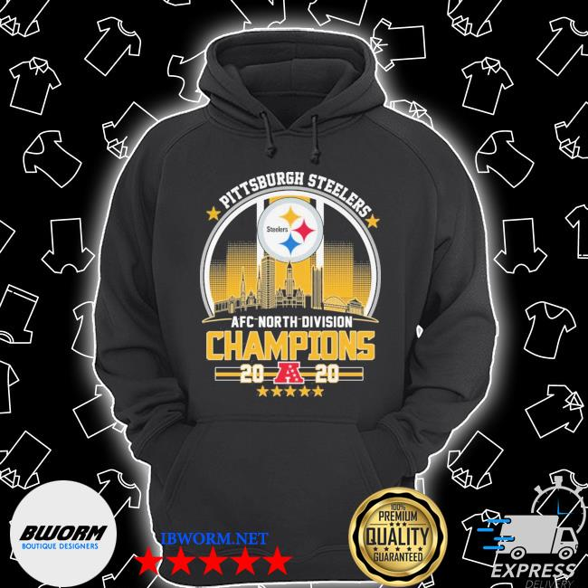 Official pittsburgh steelers afc north division champions 2020 s Unisex Hoodie