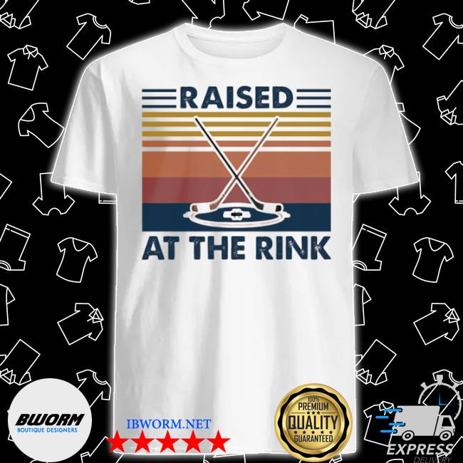 Official raised a the rink golf ball vintage shirt