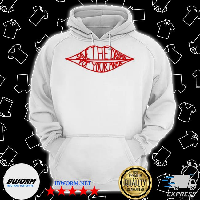 Official save the drama for your mama friends tv s Classic Hoodie