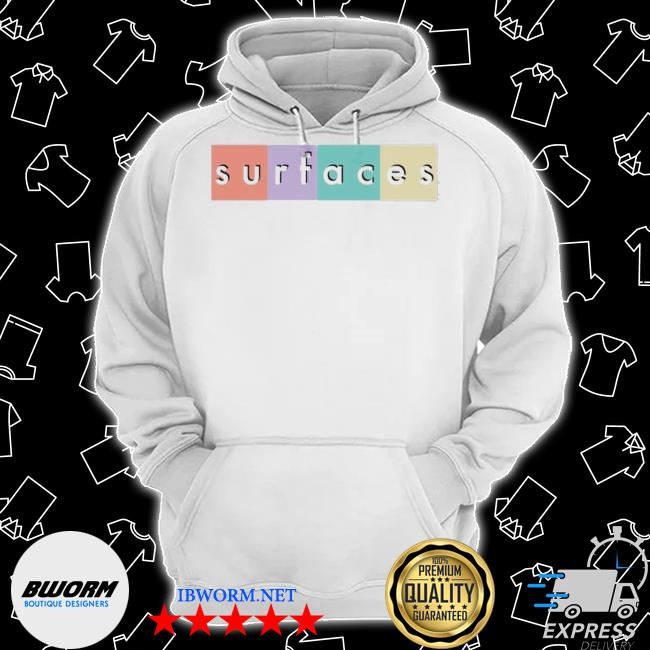 Official surfaces merch multicolor logo s Classic Hoodie