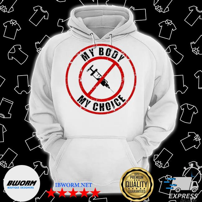 Official syringe vaccines my body my choice s Classic Hoodie