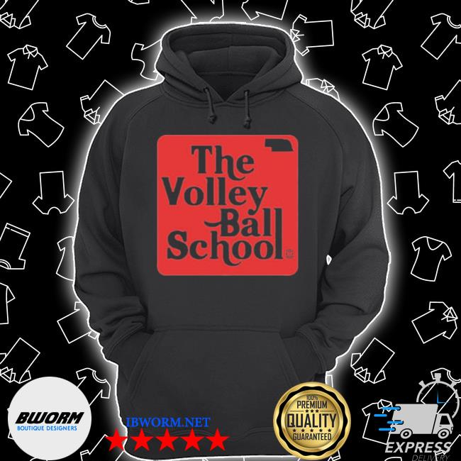 Official the volley ball school s Unisex Hoodie