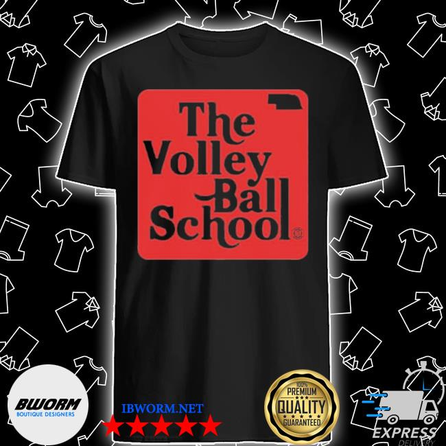 Official the volley ball school shirt