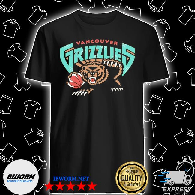 Official vancouver grizzlies shirt