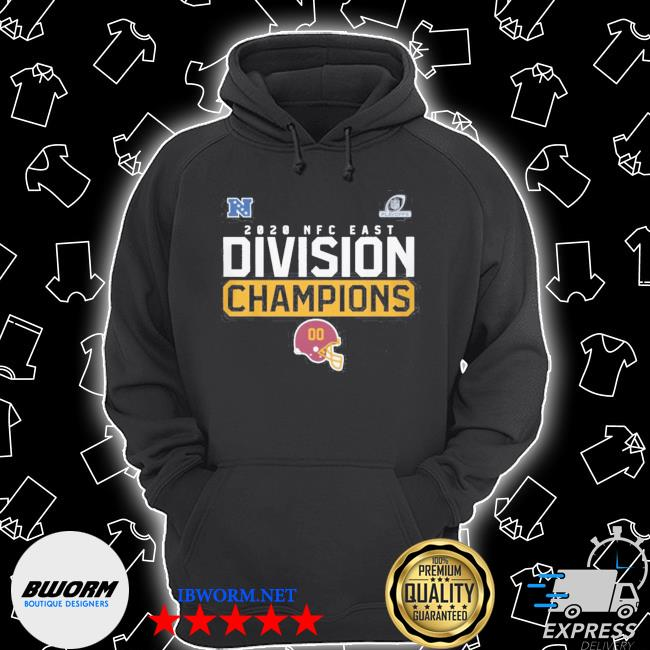 Official washington football team 2020 nfc east division champions s Unisex Hoodie