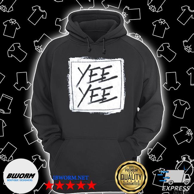 Official yee yee distressed square s Unisex Hoodie