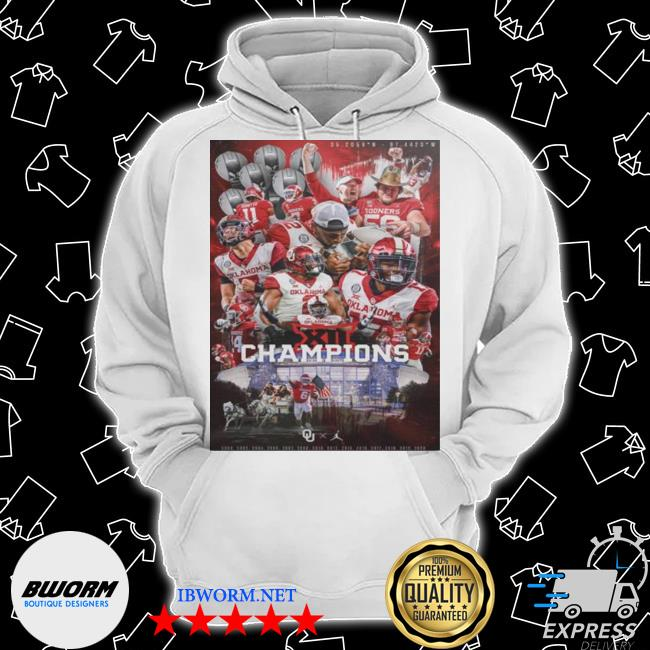 Oklahoma sooners team football players champions 2021 s Classic Hoodie