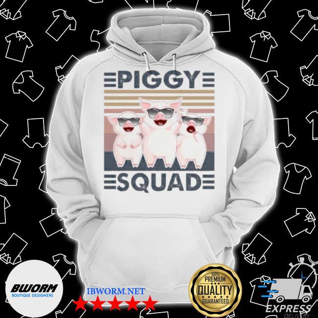 Piggy squad vintage s Classic Hoodie