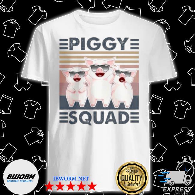 Piggy squad vintage shirt