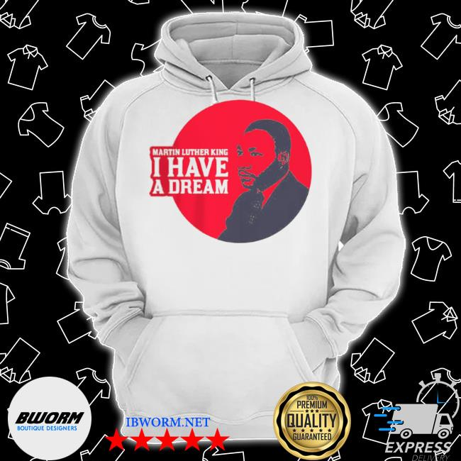 Portrait logo martin luther king day 2021 s Classic Hoodie