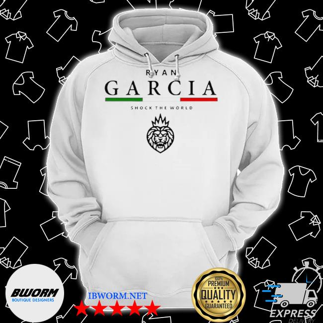 Ryan garcia shock the world s Classic Hoodie