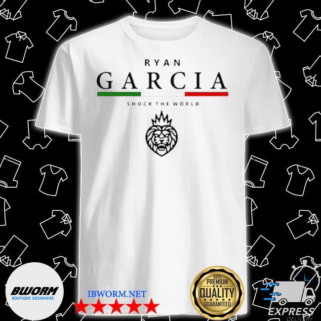 Ryan garcia shock the world shirt