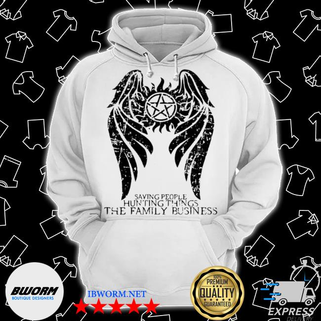 Saving people and hunting things the family business angle symbol winchester brothers s Classic Hoodie