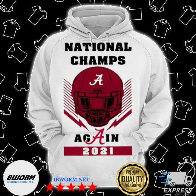 Skull national champs again alabama crimson tide 2021 s Classic Hoodie