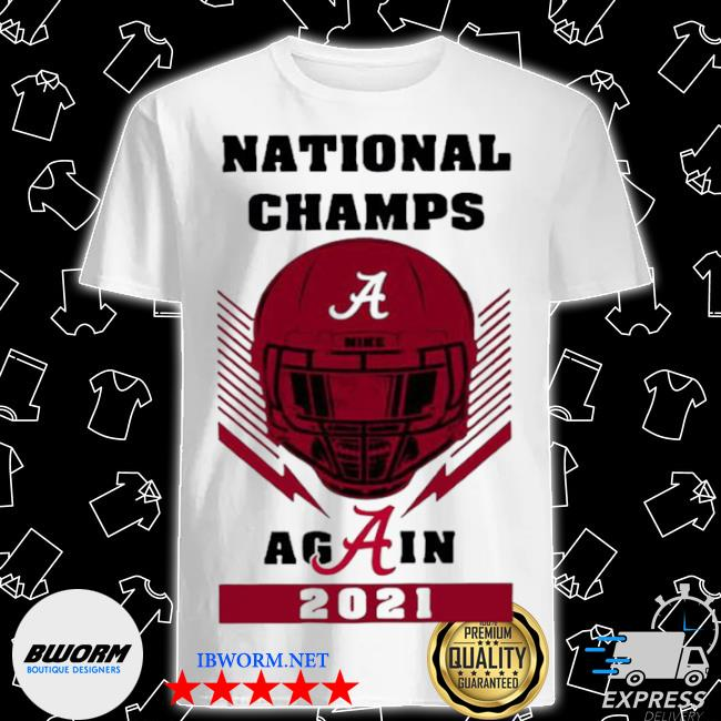 Skull national champs again alabama crimson tide 2021 shirt