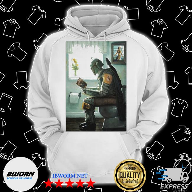The Mandalorian toilet and read book Harry Potter 2021 s Classic Hoodie