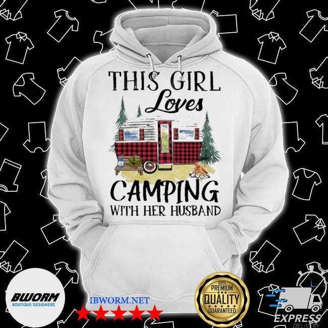 This Girl loves Camping with her husband s Classic Hoodie