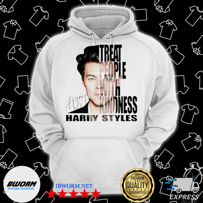Treat people with kindness Harry styles signatures s Classic Hoodie