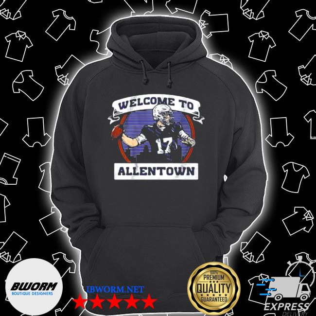 Welcome to allentown football player number 17 s Unisex Hoodie