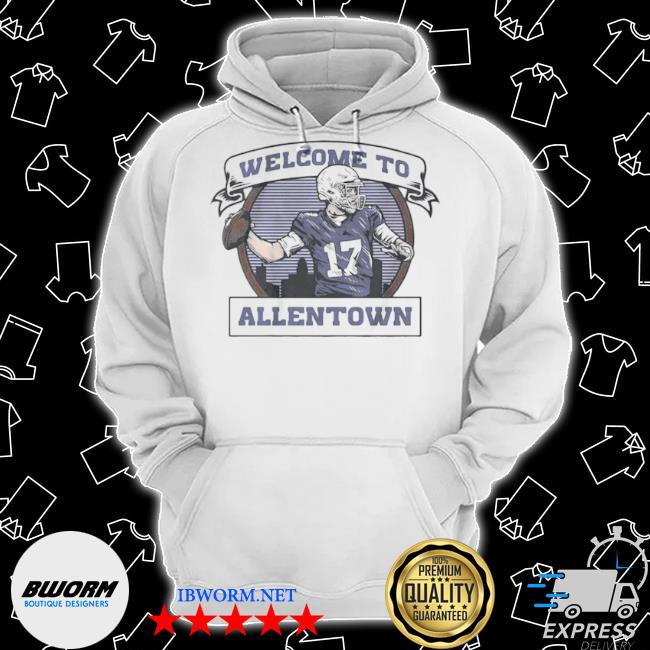 Welcome to allentown s Classic Hoodie