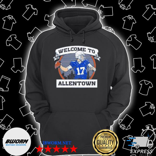 Welcome to be allentown s Unisex Hoodie