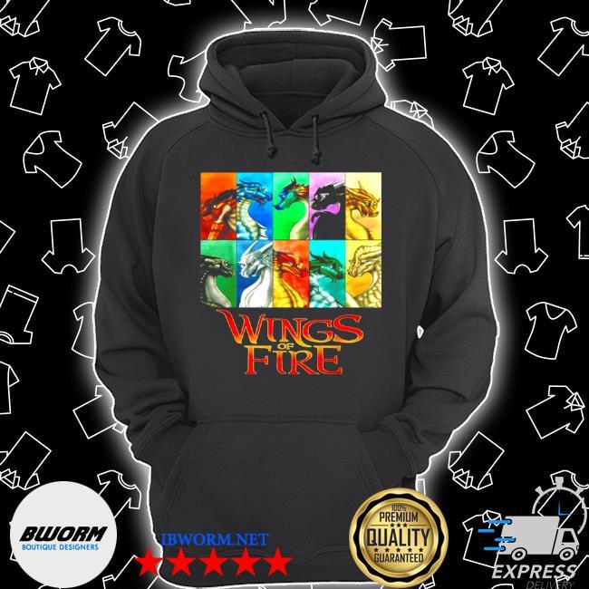 Wings of fire all together men women kids s Unisex Hoodie