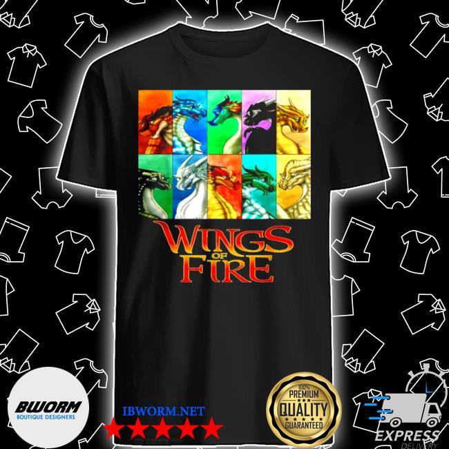 Wings of fire all together men women kids shirt